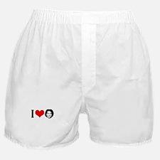 I Heart Michelle Obama Boxer Shorts