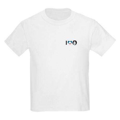 I Love Michelle Obama Kids Light T-Shirt