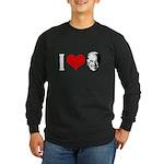 I Love Joe Biden Long Sleeve Dark T-Shirt