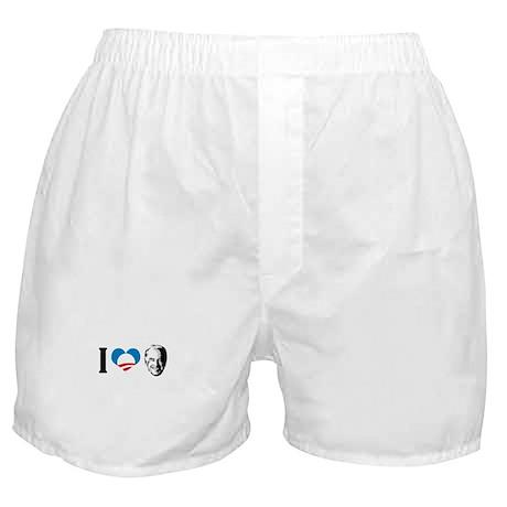 I Love Joe Biden Boxer Shorts