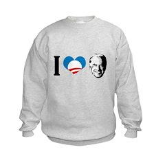 I Love Joe Biden Sweatshirt