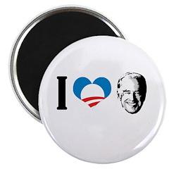 I Love Joe Biden Magnet