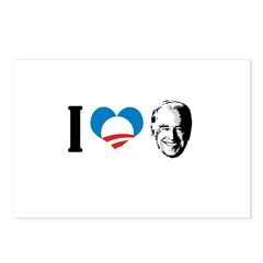I Love Joe Biden Postcards (Package of 8)