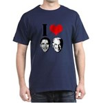 I Heart Obama Biden Dark T-Shirt