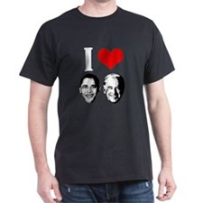 I Heart Obama Biden T-Shirt