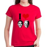 I Heart Obama Biden Women's Dark T-Shirt