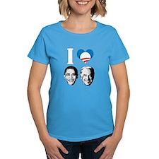 I Love Obama Biden Tee
