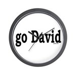 go David Wall Clock