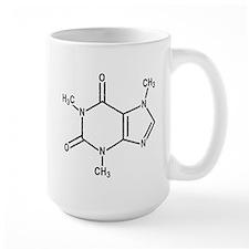 Caffeine Molecule Ceramic Mugs