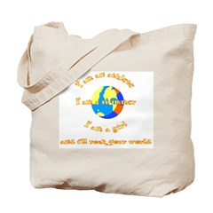 I'll rock your world Tote Bag