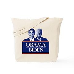 Barack Obama and Joe Biden Tote Bag