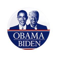 """Barack Obama and Joe Biden 3.5"""" Button"""