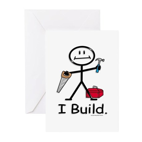BusyBodies Construction Greeting Cards (Package of