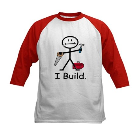 BusyBodies Construction Kids Baseball Jersey