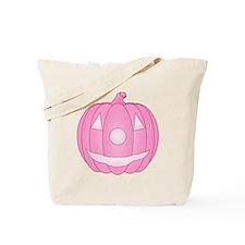 Pink Jack O'Lantern Tote Bag