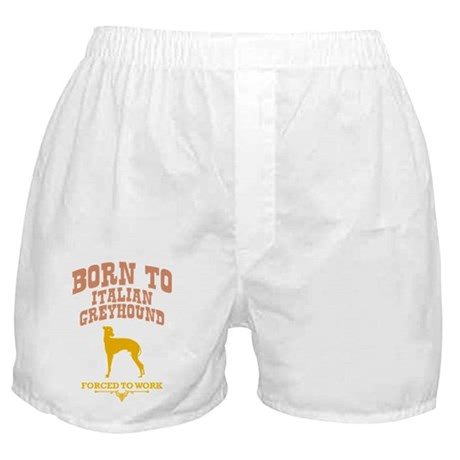 Italian Greyhound Boxer Shorts