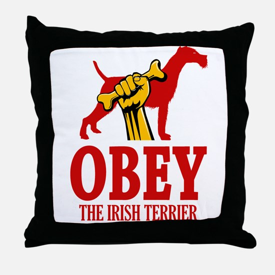 Irish Terrier Throw Pillow
