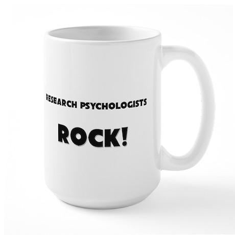 Research Officers ROCK Large Mug