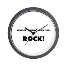 Remote Sensing Scientists ROCK Wall Clock