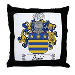 Donini Family Crest Throw Pillow