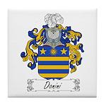 Donini Family Crest Tile Coaster
