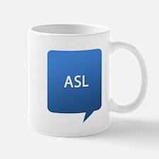 ASL age Location Mug