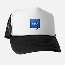 ASAP As Soon As Possible Trucker Hat