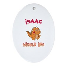 Isaac - Middle Brother Oval Ornament
