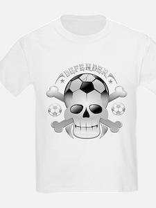 Socccer skull T-Shirt