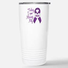 Missing My Mom 1 PURPLE Travel Mug