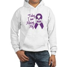 Missing My Mom 1 PURPLE Hoodie