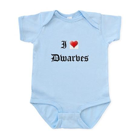 I LOVE DWARVES DWARF Infant Creeper