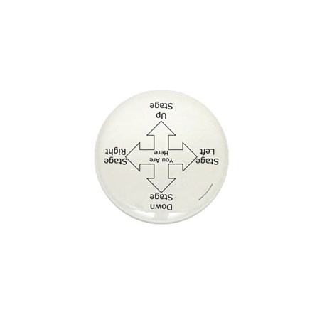 Stage Directions Mini Button (10 pack)