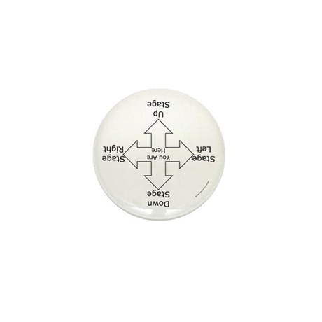 Stage Directions Mini Button