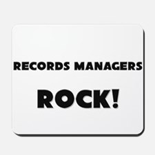 Records Managers ROCK Mousepad
