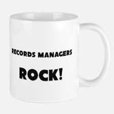 Records Managers ROCK Mug