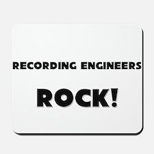 Recording Engineers ROCK Mousepad