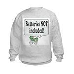 Batteries Not Included -  Kids Sweatshirt