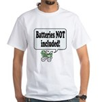 Batteries Not Included - White T-Shirt
