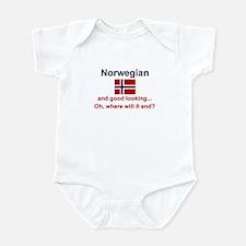 Good Looking Norwegian Infant Bodysuit