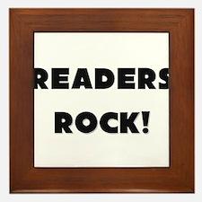 Readers ROCK Framed Tile