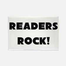 Readers ROCK Rectangle Magnet