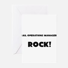 Rail Operations Managers ROCK Greeting Cards (Pk o