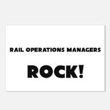Rail Operations Managers ROCK Postcards (Package o