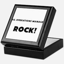 Rail Operations Managers ROCK Keepsake Box