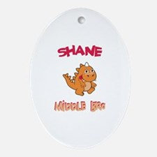 Shane - Middle Brother Oval Ornament