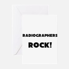 Radiographers ROCK Greeting Cards (Pk of 10)