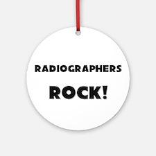 Radiographers ROCK Ornament (Round)