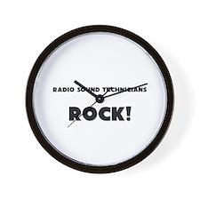 Radio Sound Technicians ROCK Wall Clock