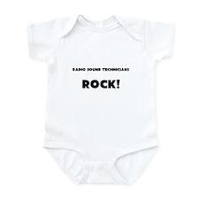 Radio Sound Technicians ROCK Infant Bodysuit